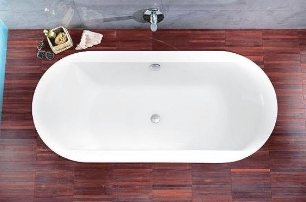 Овальные акриловые ванны