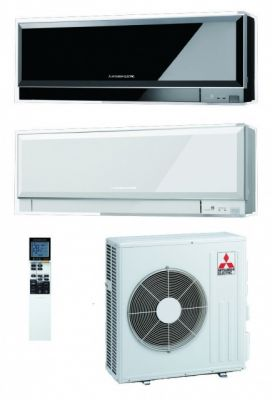 Сплит-система Mitsubishi Electric Design Inverter MSZ-EF25VE / MUZ-EF25VE белый и черный